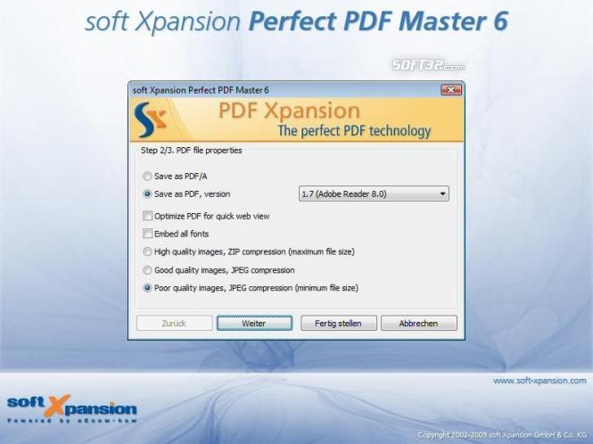 Perfect PDF Master Screenshot 2