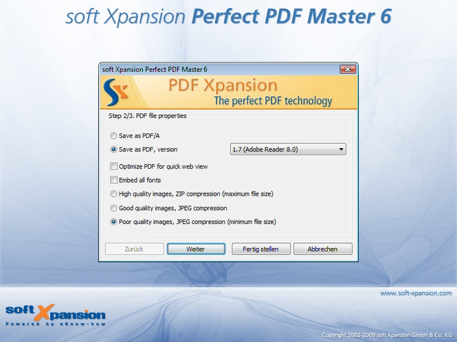Perfect PDF Master Screenshot