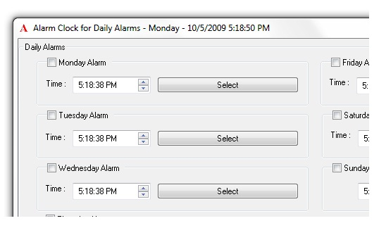 Alarm Clock for Daily Alarms Screenshot 1