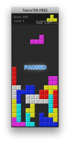 Tetris'09 FREE Screenshot 2