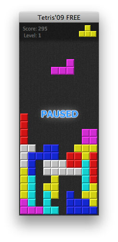 Tetris'09 FREE Screenshot 1