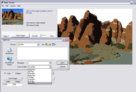 Auto Vector Screenshot 1