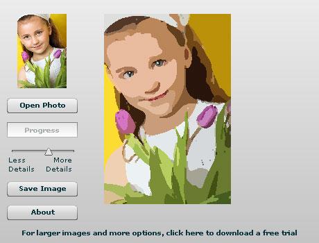 Photo to Cartoon Online Screenshot