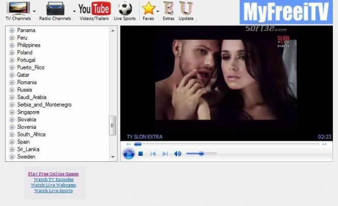 MyFreeiTV - Free Internet TV and Radio Screenshot 2