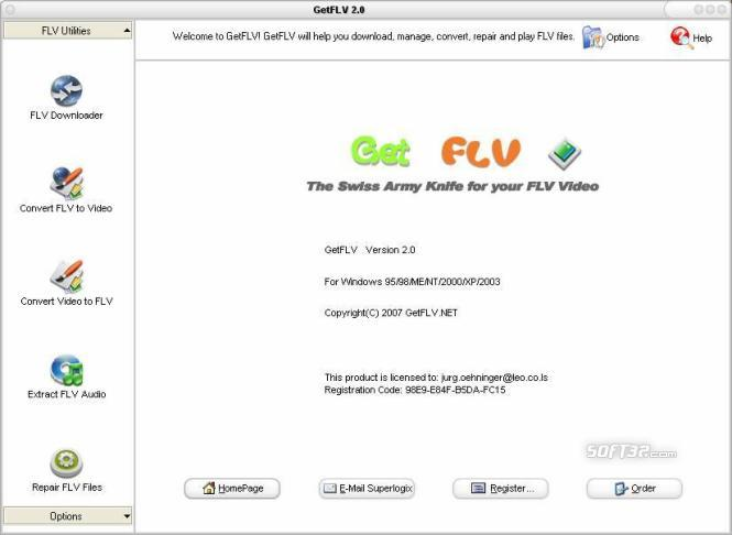 GetFLV Screenshot 2