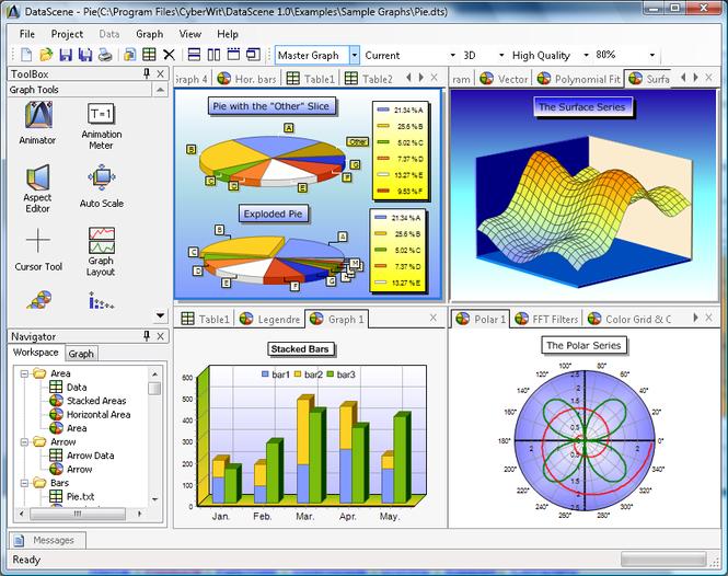 DataScene Lite Screenshot