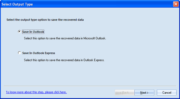 OST to Outlook PST Screenshot 1