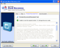 SysTools Word Recovery Tool 1