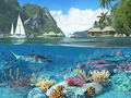 Caribbean Islands 3D Screensaver 1