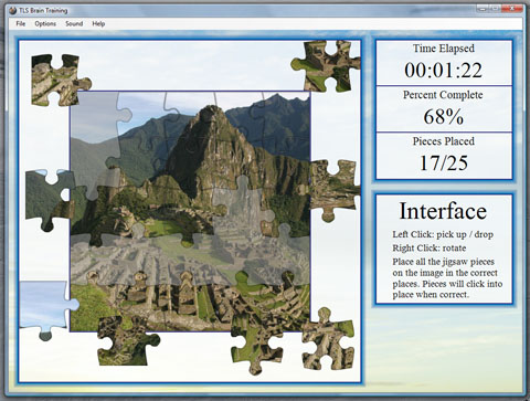 TLS Brain Training Screenshot