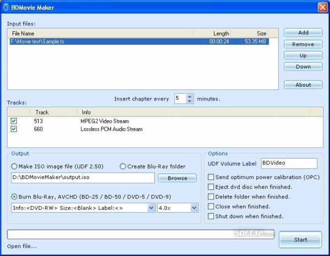 BDMovie Maker Screenshot 3