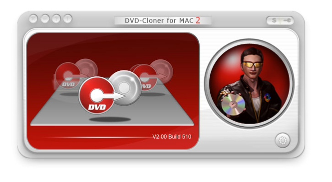 DVD-Cloner for Mac Screenshot