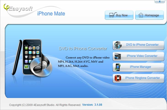 4Easysoft iPhone Mate Screenshot 1