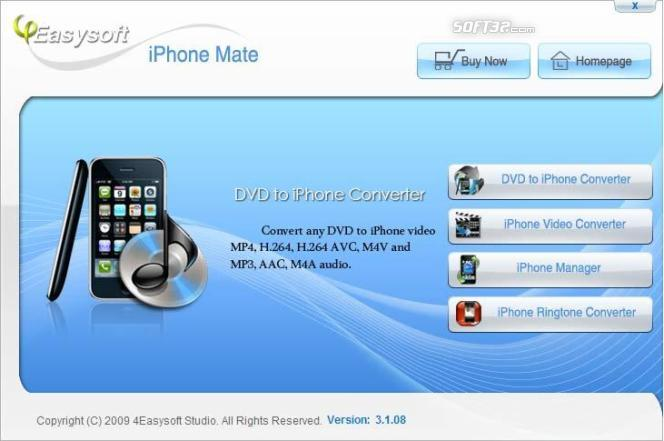 4Easysoft iPhone Mate Screenshot 3