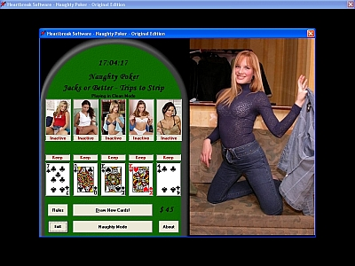 Naughty Poker Screenshot 1