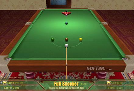 3D Snooker Screenshot 3