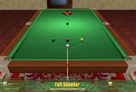 3D Snooker Screenshot