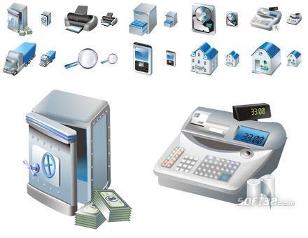 Free Large Business Icons Screenshot 3