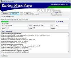 A Random Music Player Screenshot 2