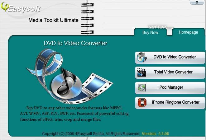 4Easysoft Media Toolkit Ultimate Screenshot 3