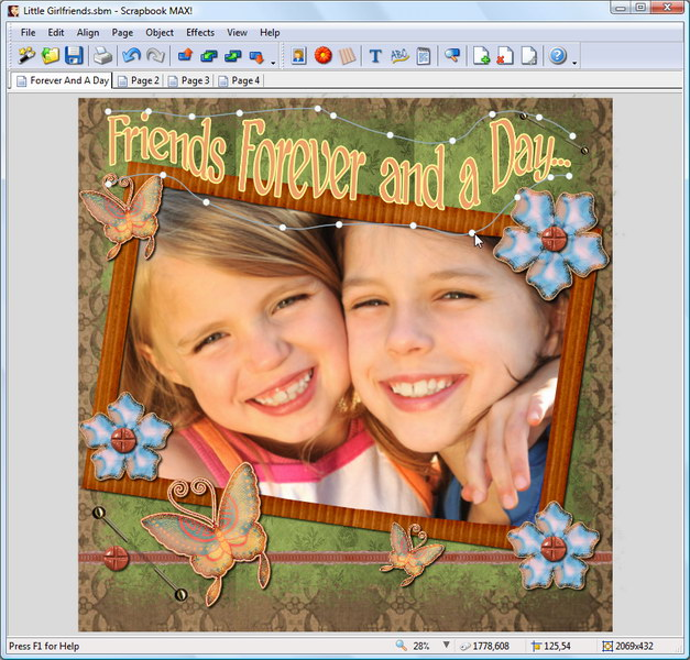 Scrapbook MAX! Screenshot 1