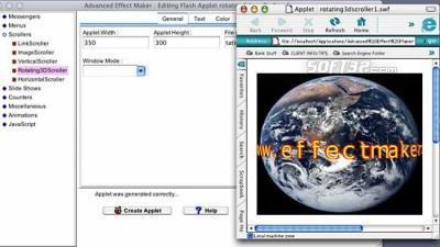 Advanced Effect Maker Free Edition Mac Screenshot 2