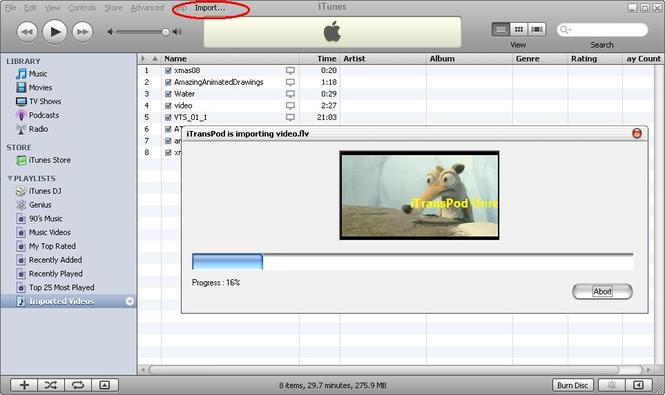 iTransPod PRO Screenshot 1