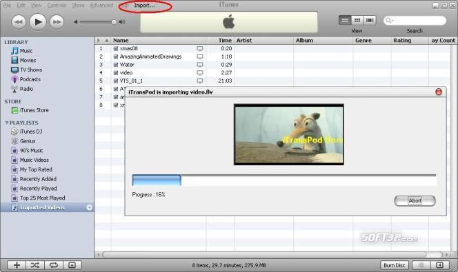 iTransPod PRO Screenshot 2
