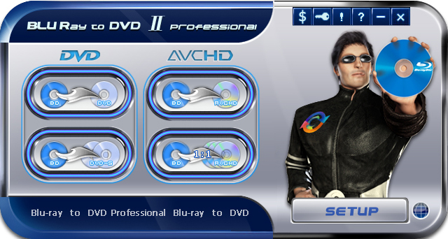 Blu-ray to DVD Pro Screenshot 1