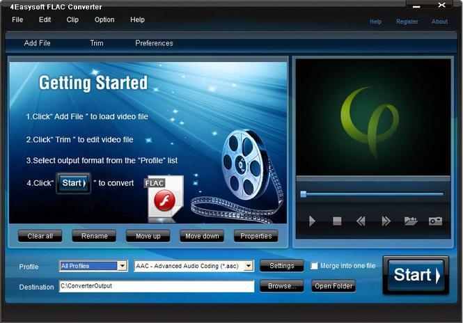 4Easysoft FLAC Converter Screenshot