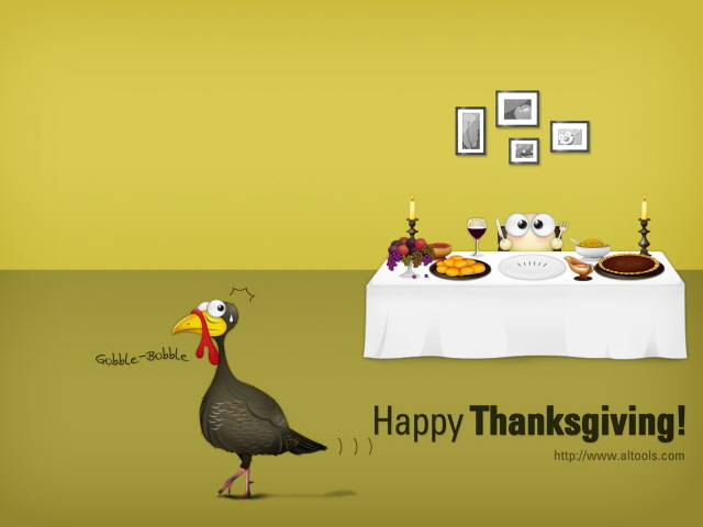ALTools Thanksgiving Wallpaper Screenshot
