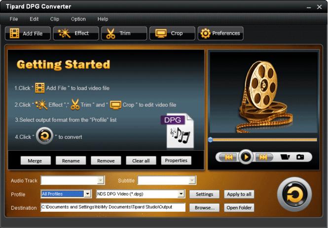Tipard DPG Converter Screenshot 2