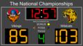 Basketball Scoreboard Standard 1