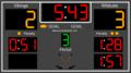 Hockey Scoreboard Standard 1