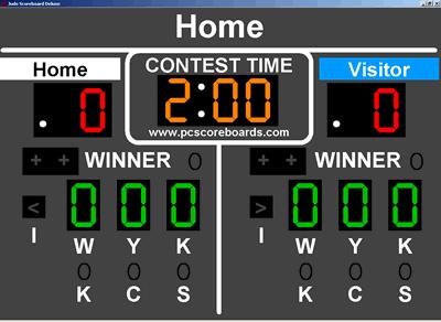 Judo Scoreboard Deluxe Screenshot