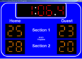 Swim Scoreboard Basic 1