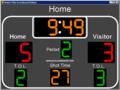 Water Polo Scoreboard Deluxe 1