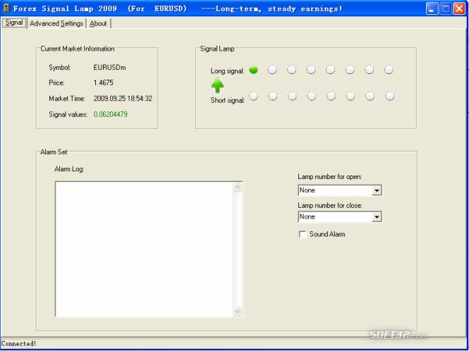 Forex signal lamp Screenshot 3