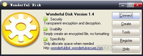 Wonderful Disk Screenshot 2