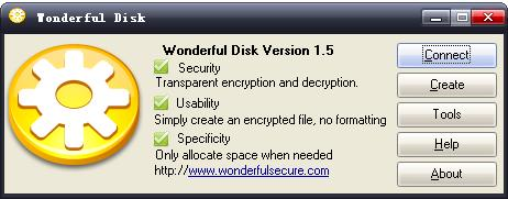 Wonderful Disk Screenshot