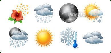 Icons-Land Vista Style Weather Icons Set Screenshot 2