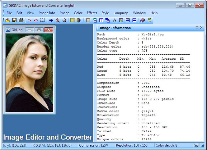 Image Editor and Converter Screenshot 1