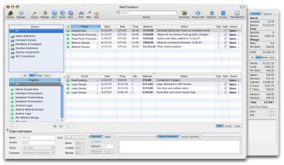 MacFreelance Screenshot 1