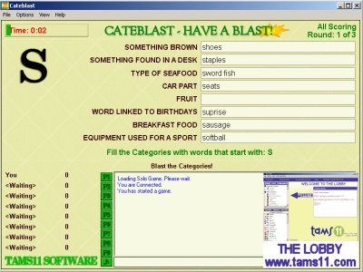 Tams11 Cateblast Screenshot