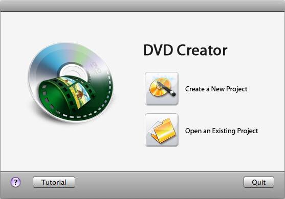 iSkysoft DVD Creator for Mac Screenshot