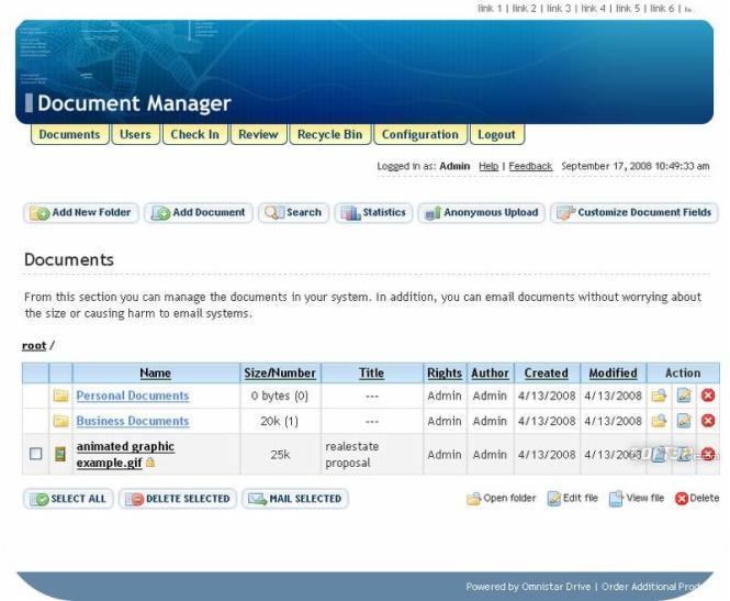Omnistar Document Manager Screenshot 3