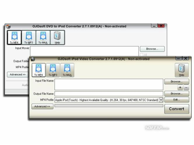 OJOsoft DVD iPod Converter Suite Screenshot 3