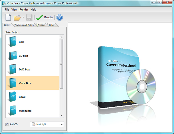 Cover Professional Screenshot