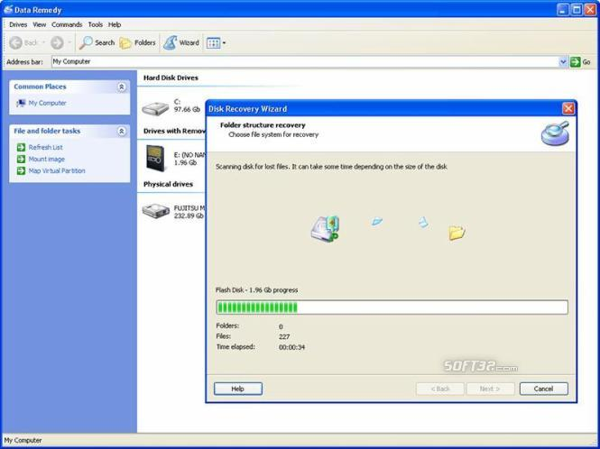 Disk Data Recovery Screenshot 3