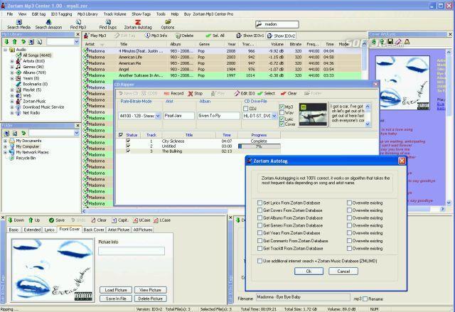 Zortam Mp3 Center Screenshot 2